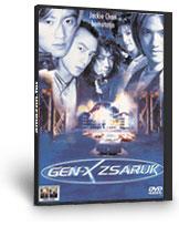 Gen-X zsaruk DVD