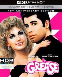 Grease - 40 éves jubileumi változat Blu-ray + 4K Blu-ray