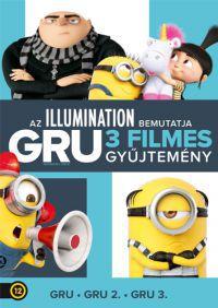 Gru 1-3.  *Díszdoboz*  (3 DVD) DVD