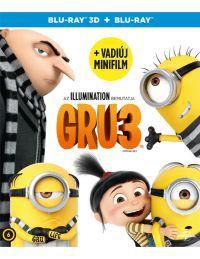 Gru 3. 3D Blu-ray