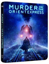 Gyilkosság az Orient Expresszen (2017) - limitált, fémdobozos változat (steelbook) Blu-ray