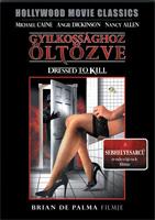Gyilkossághoz öltözve DVD