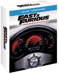 Halálos iramban 1-7. - limitált digibook (7 BD + DVD) Blu-ray