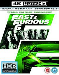 Halálos iramban 6. Blu-ray