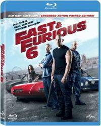 Halálos iramban 6. (mozi- és bővített változat) Blu-ray