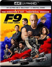 Halálos iramban 9 - Rendezői változat + moziverzió (4K Ultra HD Blu-ray + Blu-ray) Blu-ray