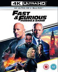 Halálos iramban: Hobbs és Shaw (4K UHD+Blu-ray) Blu-ray