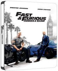 Halálos iramban: Hobbs és Shaw (4K UHD+Blu-ray) - limitált, fémdobozos változat (steelbook) Blu-ray