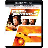 Halálos iramban: Ötödik sebesség (4K UHD+Blu-ray) Blu-ray