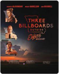 Három óriásplakát Ebbing határában - limitált, fémdobozos változat (steelbook) Blu-ray
