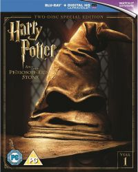 Harry Potter és a bölcsek köve (kétlemezes, új kiadás - 2016) (BD+DVD) Blu-ray