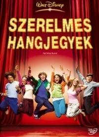 High School Musical - Szerelmes hangjegyek DVD
