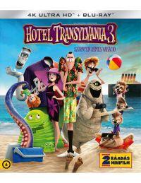 Hotel Transylvania 3. - Szörnyen rémes vakáció (4K UHD + BD) Blu-ray