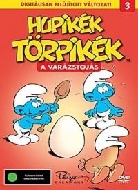 Hupikék törpikék 3. - A varázstojás DVD