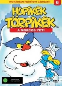 Hupikék törpikék 6. - A morcos Yeti DVD