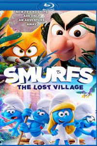 Hupikék törpikék: Az elveszett falu Blu-ray
