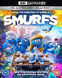Hupikék törpikék: Az elveszett falu 4K Blu-ray