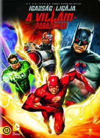 Igazság ligája: A villám-paradoxon DVD