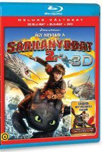 Így neveld a sárkányodat 2. (Blu-ray 3D+BD+DVD) Blu-ray