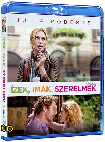 Ízek, imák, szerelmek Blu-ray