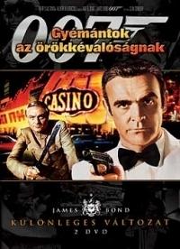 James Bond 07. - Gyémántok az örökkévalóságnak DVD