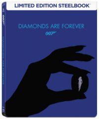 James Bond - Gyémántok az örökkévalóságnak - limitált, fémdobozos változat (steelbook) Blu-ray