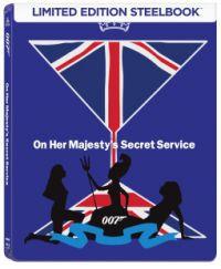 James Bond - Őfelsége titkosszolgálatában - limitált, fémdobozos változat (steelbook) (Blu-ray Blu-ray