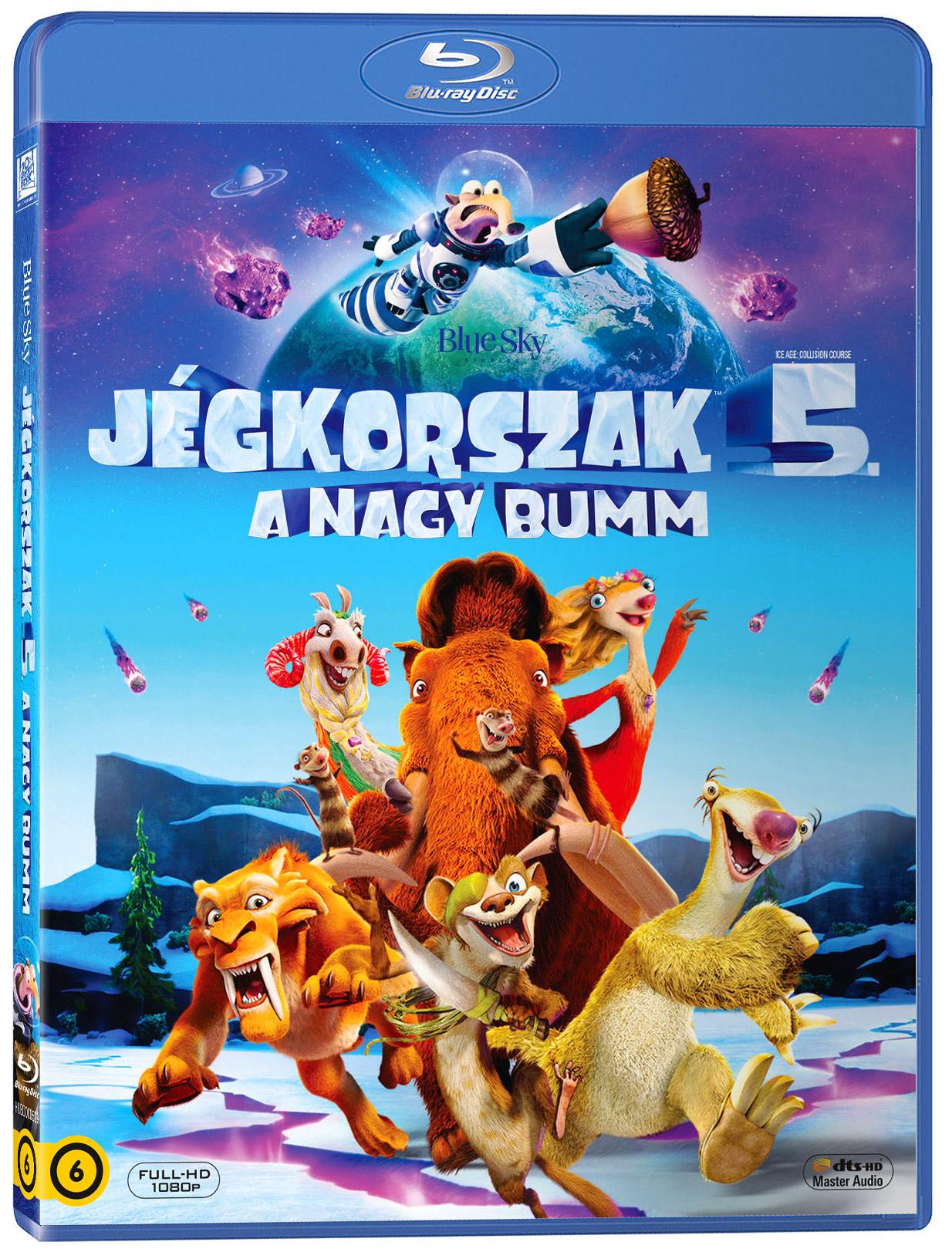 Jégkorszak 5. - A nagy Bumm Blu-ray