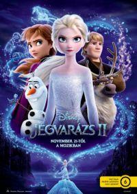 Jégvarázs 2. *Disney* *Magyar szinkron, idegennyelvű borító* DVD