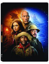 Jumanji 1-2. (2 Blu-ray) -  limitált, fémdobozos változat (steelbook) Blu-ray