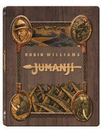 Jumanji (1995)  *Limitált, fémdobozos változat* (steelbook) Blu-ray