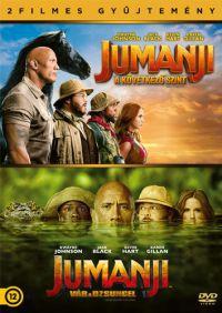 Jumanji - A következő szint DVD