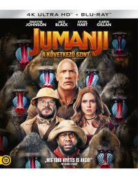 Jumanji - A következő szint (4K UHD + Blu-ray) Blu-ray