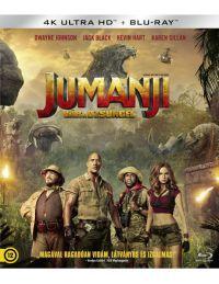 Jumanji - Vár a dzsungel (UHD+Blu-ray) Blu-ray