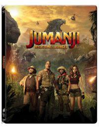 Jumanji - Vár a dzsungel  - limitált, fémdobozos változat (steelbook) 2D és 3D Blu-ray