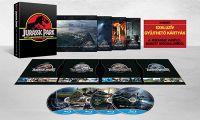 Jurassic Park 1-4. (25. évfordulós, limitált zenélő díszdoboz) (4 Blu-ray) Blu-ray