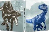 "Jurassic World: Bukott birodalom (3DBD+Blu-ray) - limitált, fémdobozos változat (""Blue Indoraptor"" s Blu-ray"