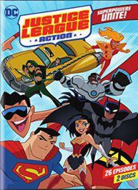 Justice League Action DVD