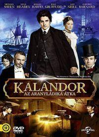 Kalandor: Az aranyládika átka DVD