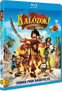 Kalózok! - A kétballábas banda Blu-ray