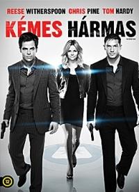 Kémes hármas DVD