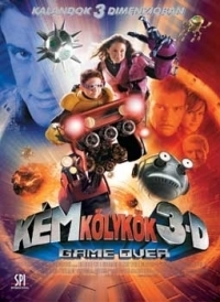 Kémkölykök 3-D: Game Over DVD