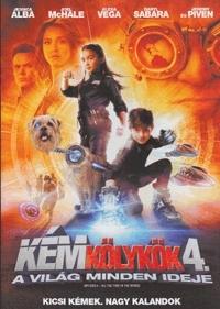 Kémkölykök 4. - A világ minden ideje DVD
