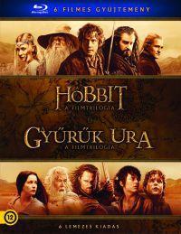 Középfölde gyűjtemény (6 Blu-ray) - Hobbit és Gyűrűk Ura trilógia Blu-ray