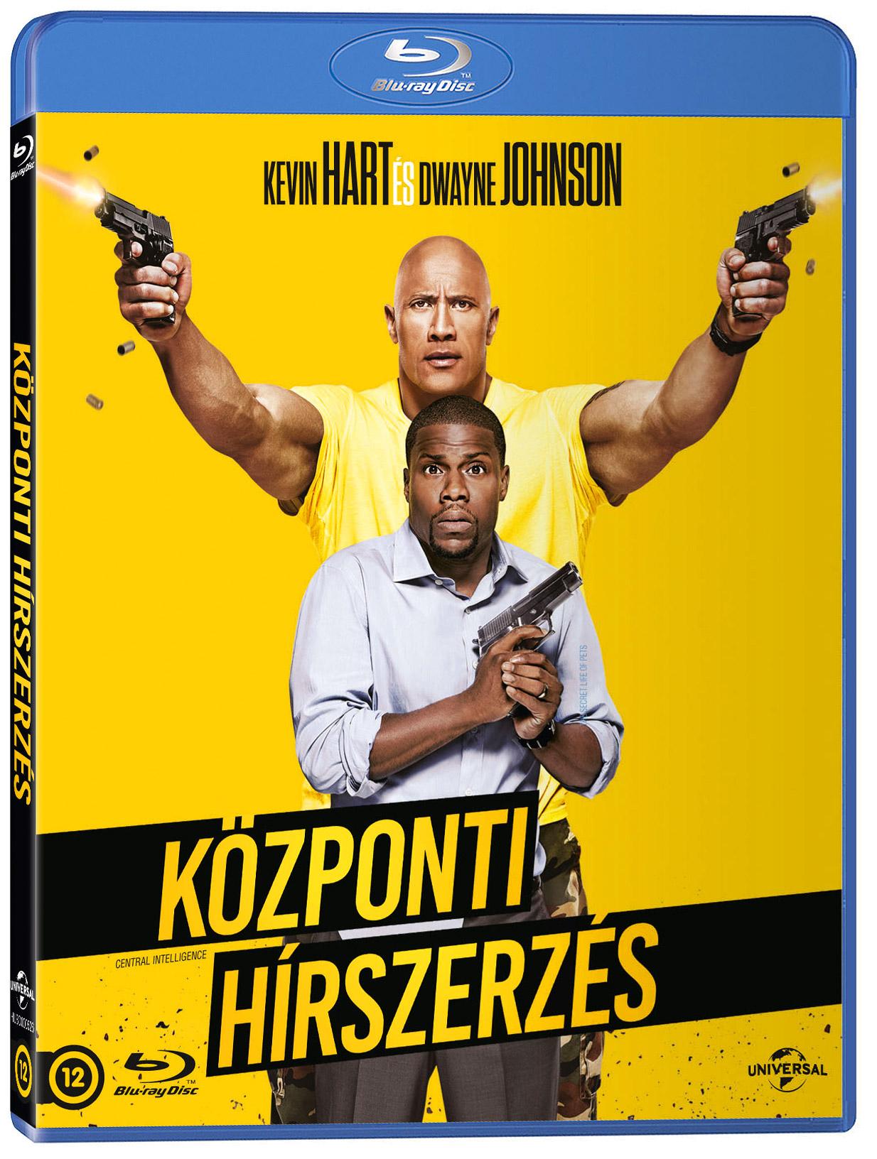 Központi hírszerzés Blu-ray