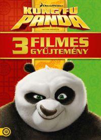 Kung Fu Panda - 3 filmes gyűjtemény (3 DVD) DVD
