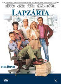 Lapzárta DVD