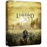 Legenda vagyok (4K UHD+Blu-ray) - limitált, fémdobozos változat (steelbook) Blu-ray