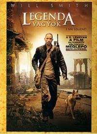 Legenda vagyok (egylemezes változat) DVD