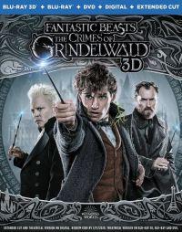 Legendás állatok - Grindelwald bűntettei 2D és 3D Blu-ray